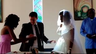 Nem fújta le az esküvőjét a nő, akinek napokkal előtte leharapta a karját egy krokodil