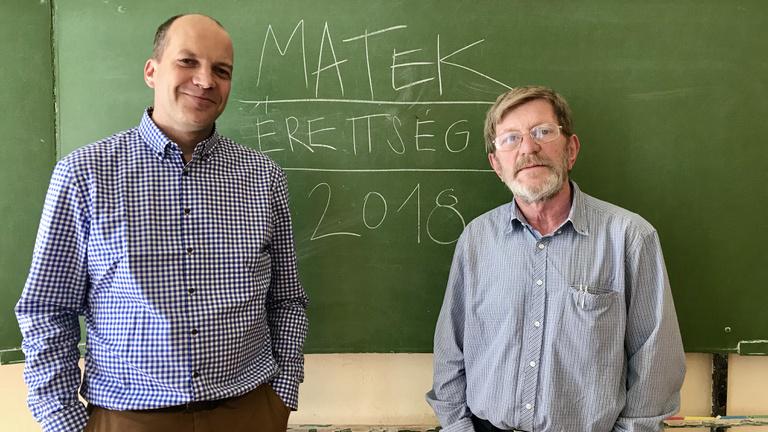 Gerőcs és Csapodi tanár úr megoldotta a matekérettségit