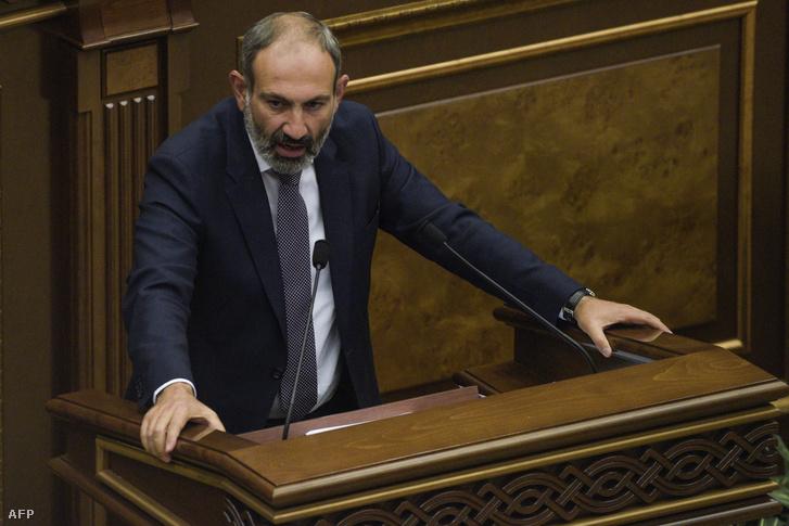Nikol Pasinjan beiktatás utáni első beszéde