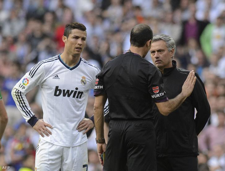 Ronaldo és Mourinho még együtt a Real Madridban
