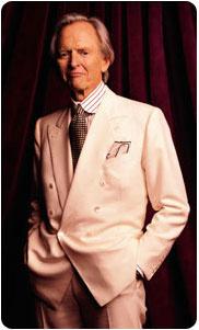 Tom Wolfe (forrás: Tom Wolfe hivatalos oldala)