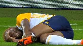 A labda gyógyította meg a Puskás labdarúgójának súlyosan sérült bokáját