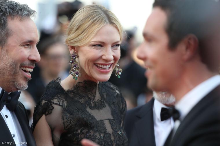 Na, ilyen egy szívből jövő mosoly, aki pedig bemutatja: Cate Blanchett.