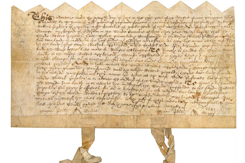 A 16. századi kézirat a könyvből.