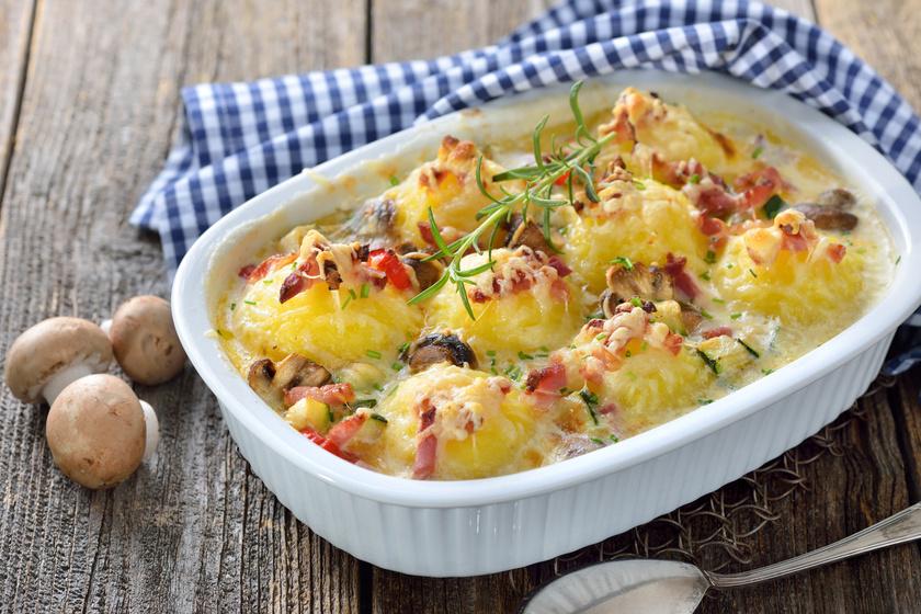 Fejedelmi, baconös-sajtos, sült krumpligombóc: ha egyszerű, de különleges vacsorára vágysz