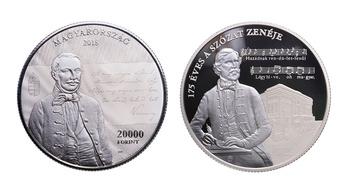 Új húszezres érmét bocsát ki a jegybank