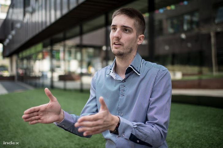 Schuth Gábor, az MLSZ erőnléti edzője és adatelemzője