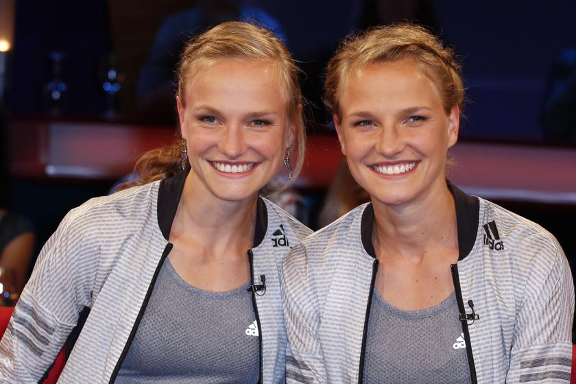 A Németországból származó Anna és Lisa Hahner érdeklődési köre is hasonló, így az élsport lett a munkájuk. A lányok hosszútávfutók, a 2016-os riói olimpián kéz a kézben futottak célba.