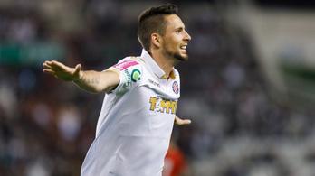 Gyurcsó gálázott a Hajdukban, szabadrúgásgól és két gólpassz