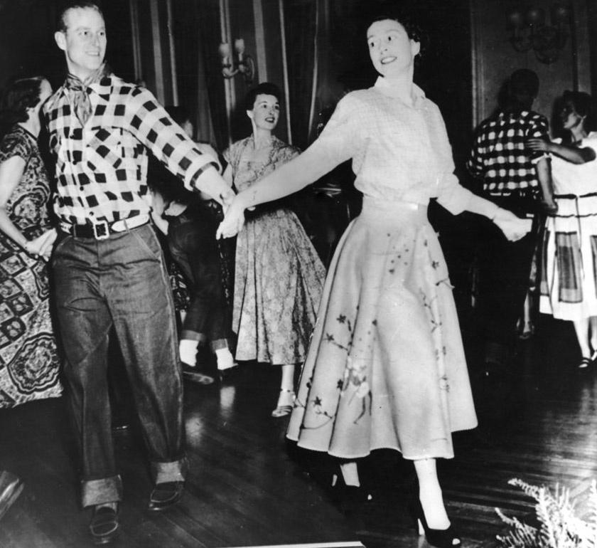 Erzsébet és Fülöp herceg 1951. október 17-én Ottawában.