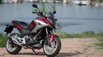 Teszt: Honda NC750X DCT – 2018.