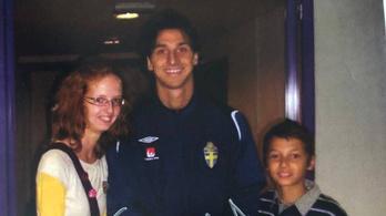 Az a kisfiú a képen pont annyi gólt lőtt idén, mint Ibra