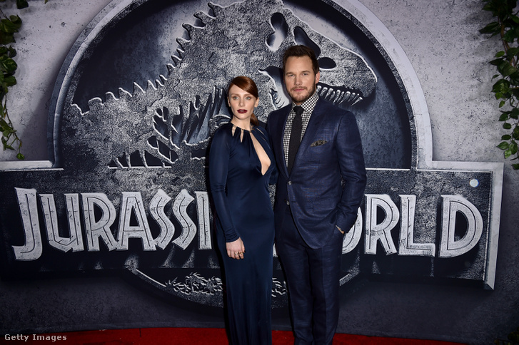 Bryce Dallas Howard és Chris Pratt