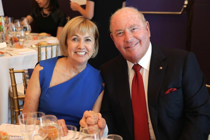 David Cornstein és felesége, Sheila