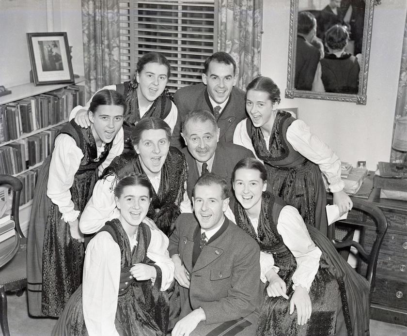 Az igazi von Trapp család.