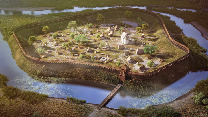 Az abaújvári földvár a XI. században