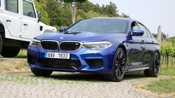 Amikor az új M5-ös BMW unalmas