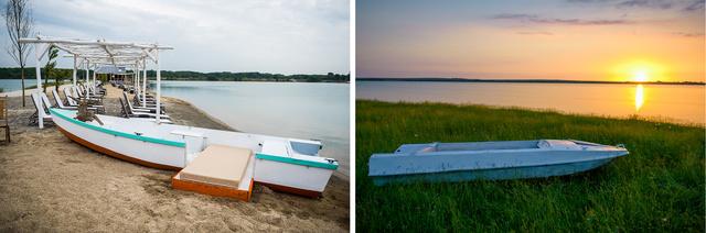 5. Melyik csónak parkolt le a Lupa-tó partján?