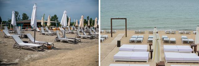 6. Melyek a Lupa strandjának másodosztályú napozóágyai?