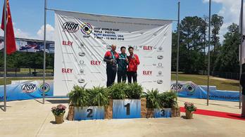 Péni István aranyérmes Fort Benningben a világkupán