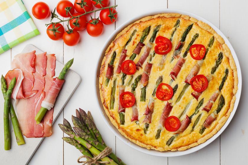 Krémes, fűszeres, spárgás pite dupla adag sajttal - A recept, amit ki kell próbálnod