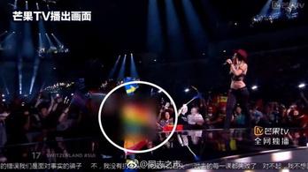 Az egyik kínai tévét kihajították az Eurovíziós Dalfesztiválról