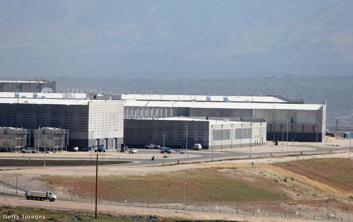 Az NSA adatközpontja Utah államban