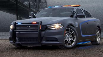 Nehézsúlyú rendőrautót készített a Dodge