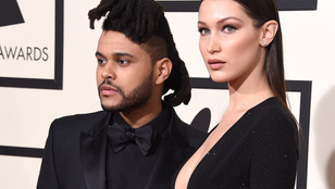 Bella Hadid látványosan összekavarodott exével, The Weeknddel