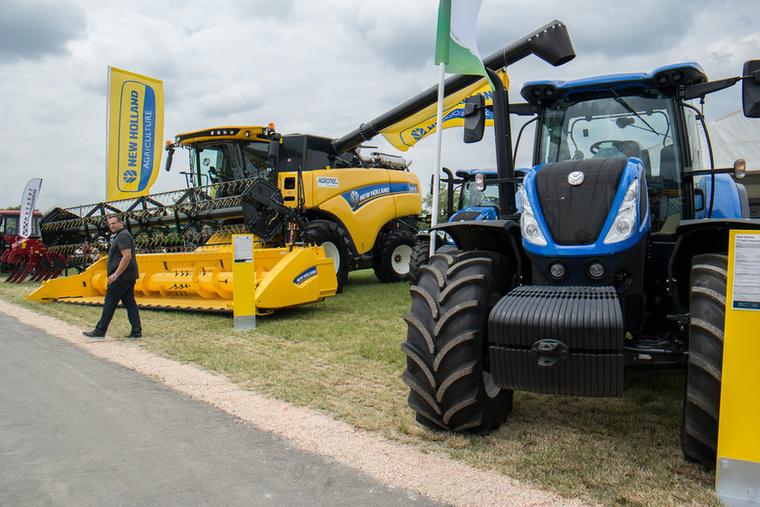 Az Agrotec is itt van a New Holland gépekkel