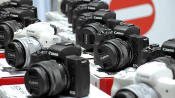 A mobilokkal venné fel a versenyt a Canon