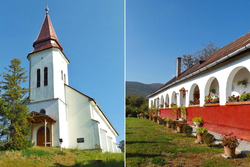 Eldugott, mégis igazán bájos: csak 860-an élnek a túrázók egyik kedvenc magyar mesefalujában