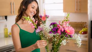 Így tarthatod életben a vágott virágot