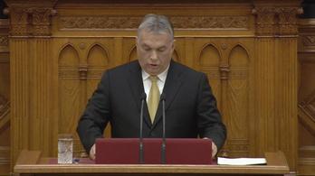Orbán Viktor miniszterelnöki eskütétele utáni beszéde vágatlan