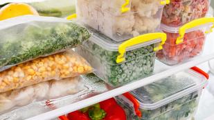 Meddig állnak el az ételek a fagyasztóban?