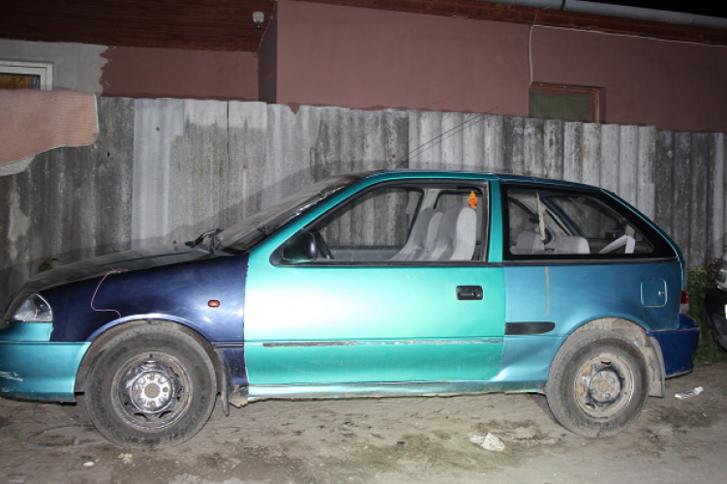 Az ellopott autó
