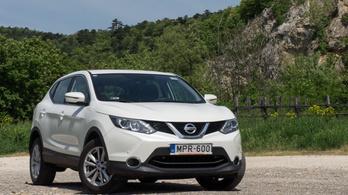 Használtteszt: Nissan Qashqai 1,5 dCi – 2015.