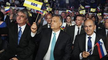 Orbán keményen beszállt a szlovén kampányba