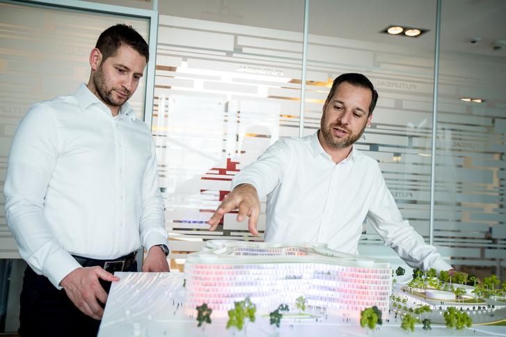 Interjú Radvány Gáborral, a Futureal-csoport főépítészével, és Németh László projekt-igazgatóhelyettessel.