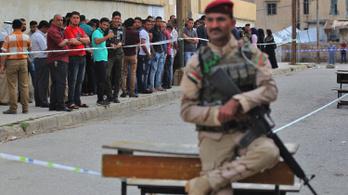 Irak választ: 900 ezer rendőr és katona áll készenlétben