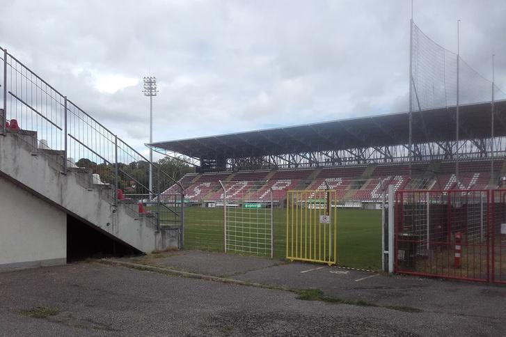 A Sopron VSE stadionja