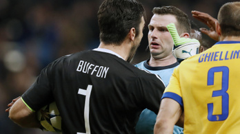 Eljárást indított Buffon ellen az UEFA