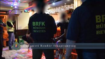 12 embert vitt be a rendőrség kábítószer miatt a bulinegyedből