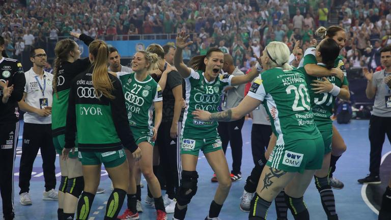 Elképesztő izgalmak: a Győr megvédte BL-címét