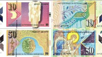 Műanyag bankjegyekre vált Macedónia is