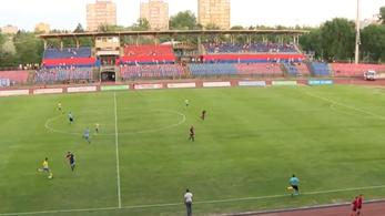 Félpályás gólt vágott a Nyíregynek a Fradi-BL-hős fia