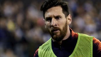 Miért nem játszott Messi?