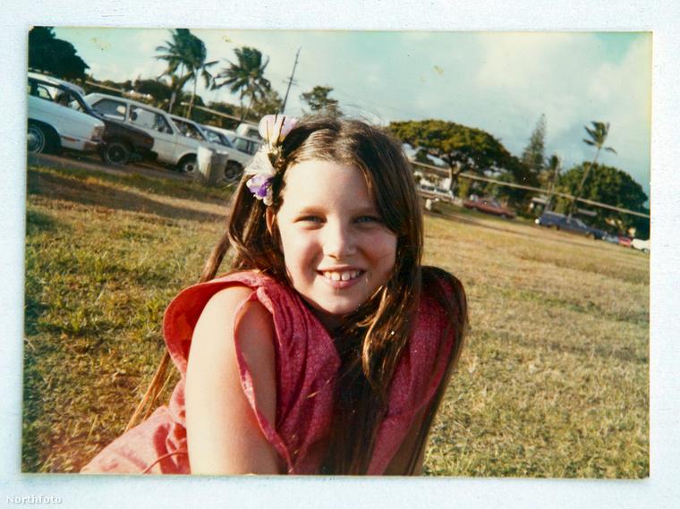 Christina Babin kislány korában.
