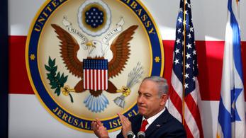 Megnyílt az áthelyezett amerikai nagykövetség