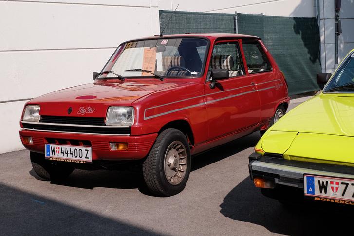 Ki, mikor látott ilyen Le Car-kivitelű R5-öst utoljára?